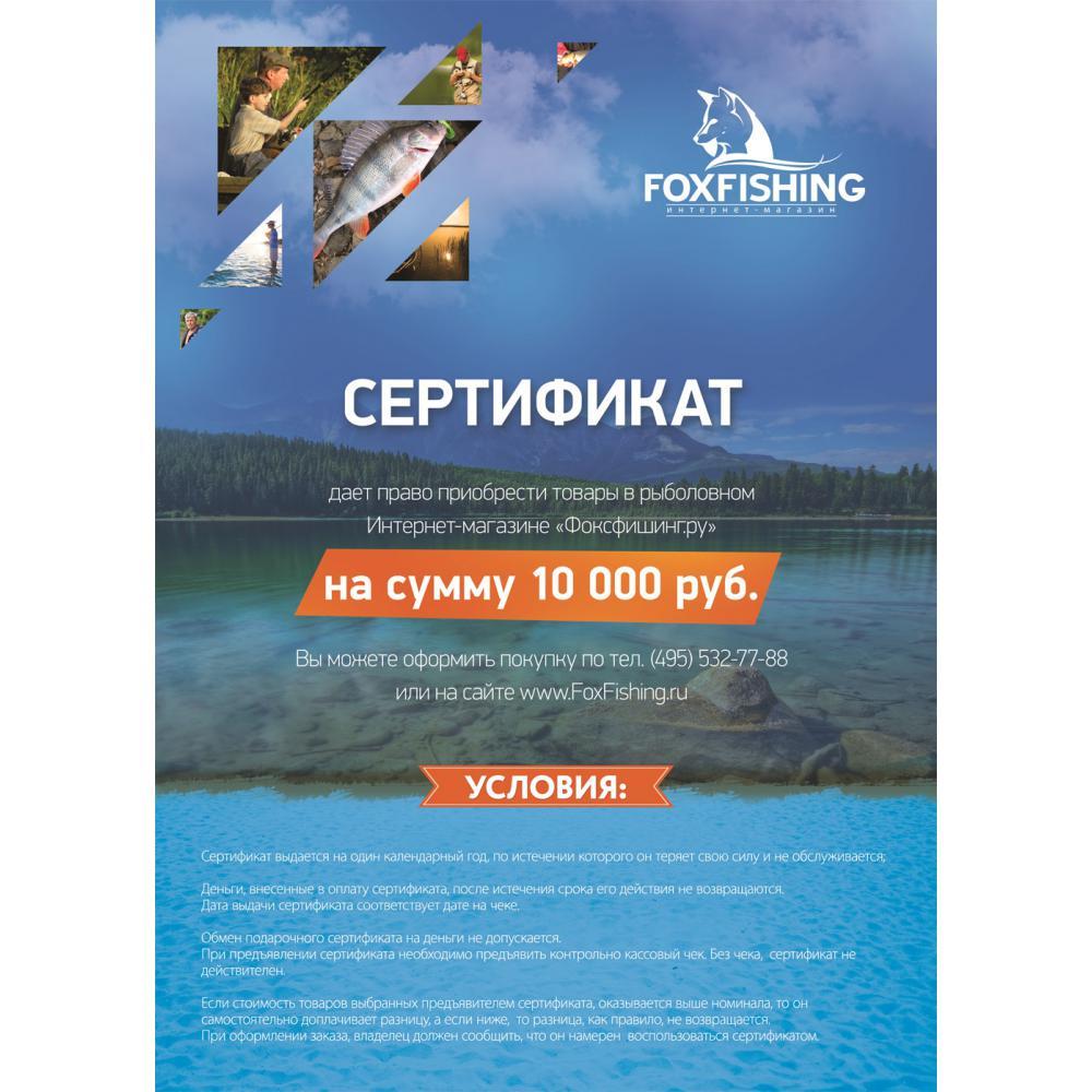 Сертификат (голубой) 10 000