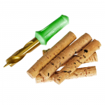 Сверло для бойлов KORDA Drill & Cork Sticks 8 mm (Набор сверло + пробковые палочки)