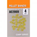 Для карпфишинга Orange Art. Резинка для пеллетса из латекса, диаметр 4 мм AC2069