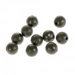 Бусины NAUTILUS art. Soft Beads 4mm olive green