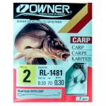 Крючки Owner RL-1481 53818-03-0.28
