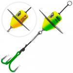 Приманка MADCAT A-STATIC SILENT TEASER Treble Hook 100gr - FIRETIGER UV