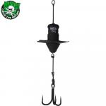 Приманка MADCAT A-STATIC SILENT TEASER Treble Hook 150gr - BLACK