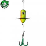 Приманка MADCAT A-STATIC SILENT TEASER Treble Hook 200gr - FIRETIGER UV