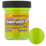 Форелевая паста Berkley Powerbait NATURAL SCENT CHEESE CHARTREUSE