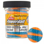 Форелевая паста BERKLEY PowerBait SELECT GLITTER TURBO DOUGH BLUE MANGO