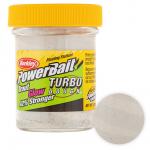 Форелевая паста BERKLEY PowerBait SELECT GLITTER TURBO GLOW WHITE GLOW