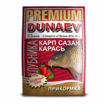 Прикормка Dunaev Premium Карп-Сазан клубника
