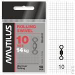 Вертлюжки Nautilus Rolling Swivel 0101 №10