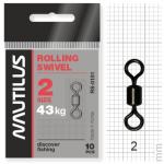 Вертлюжки Nautilus Rolling Swivel 0101 №2