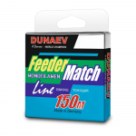 Леска Dunaev Feeder-Match 150м. 0.25мм. Black
