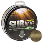 Леска KORDA SUBLINE ULTRA TOUGH 1000м. 0.30мм. BROWN