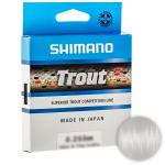 Леска SHIMANO TROUT 150м. 0.255мм. CLEAR
