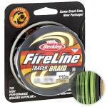 Плетеный шнур BERKLEY FIRE LINE TRACER BRAID 110м. 0.23мм. YELLOW-BLACK