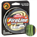 Плетеный шнур BERKLEY FIRE LINE TRACER BRAID 110м. 0.28мм. YELLOW-BLACK