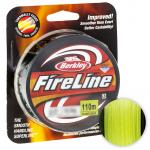 Плетеный шнур BERKLEY FIRELINE FLAME GREEN 110м. 0.10мм. GREEN