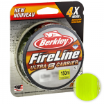 Плетеный шнур BERKLEY FIRELINE ULTRA 8 150м. 0.25мм. FLAME GREEN