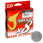 Плетеный шнур DAIWA J-BRAID GRAND X8 135m 010 GRAY LIGHT