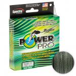 Плетеный шнур Power Pro Moss Green 1370м. 0.19мм.