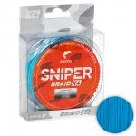 Плетеный шнур SALMO SNIPER BRAID 120м. 0.265мм. BLUE