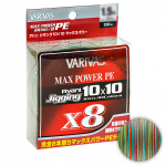 Плетеный шнур Varivas Avani Jigging 10x10 Max Power PE x8 200м. 0.205мм. MULTICOLOR
