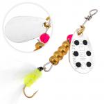 Вращающаяся блесна Fishycat Bretton Streamer №0 / SBD