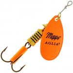 Вращающаяся блесна Mepps Aglia fluo orange №3