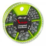 Дробь Cargo Набор Малый,свинцовый Пластилин Комби 0,3-1,2гр