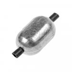 Грузило NAUTILUS ОВАЛ с силиконовой трубочкой 1.0 гр