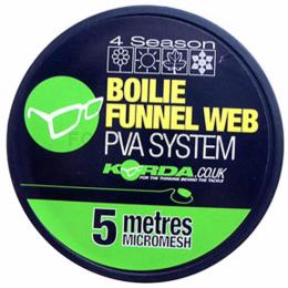 Материал KORDA PVA BOILIE FUNNEL WEB 5m micromesh