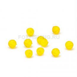 Бусины NAUTILUS art. Soft Beads Yellow 4мм