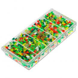 Кембрики Три Кита Art. №1 силиконовые в коробочке СВ-01
