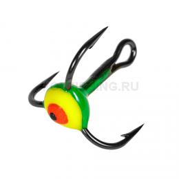 Крючки LUCKY JOHN art. №06 желто-зеленый