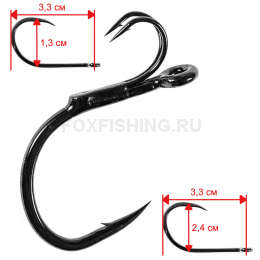 Крючки MADCAT STINGER HOOK №8/0