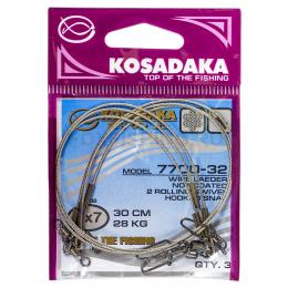 Поводки KOSADAKA PROFESSIONAL 7X7 30см. 6кг.