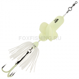Приманка Madcat A-static Propeller Teaser Treble Hook 150g - GLOW-IN-THE-DARK