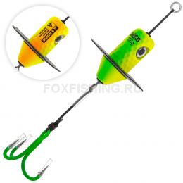 Приманка Madcat A-static Silent Teaser Treble Hook 150gr - FIRETIGER UV