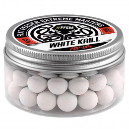 Бойлы FFEM Pop-Up Hookbaits White Krill 12mm