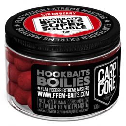 Бойлы Ffem Super Soluble Boilies Hookbaits 13mm Strawberry