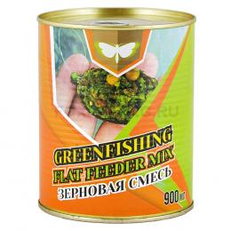 Зерновая смесь GREENFISHING art. МИКС FLAT FEEDER 0,90