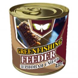 Зерновая смесь GREENFISHING art. МИКС FEEDER ORIGINAL 0,43