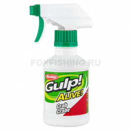 Аттрактант BERKLEY GULP ALIVE SPRAY 237ml КРАБ