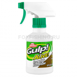 Аттрактант BERKLEY GULP ALIVE SPRAY 237ml РАК