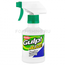 Аттрактант BERKLEY GULP ALIVE SPRAY 237ml СЕЛЬДЬ