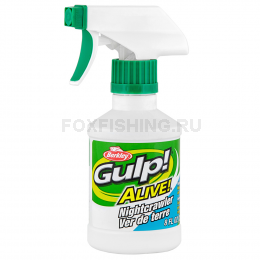 Аттрактант BERKLEY GULP ALIVE SPRAY 237ml ВЫПОЛЗОК