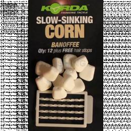 Насадка KORDA имитационная Corn Slow Sinking White