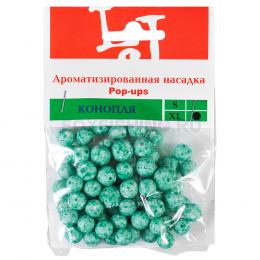Насадка SALMO искусственная XL КОНОПЛЯ зелен.