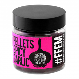 Пелетс Ffem Hookbaits Pellets Spicy Garlic Halibut 14 mm