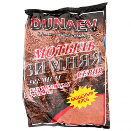 Прикормка DUNAEV ICE PREMIUM Мотыль