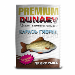Прикормка Dunaev Premium Карась